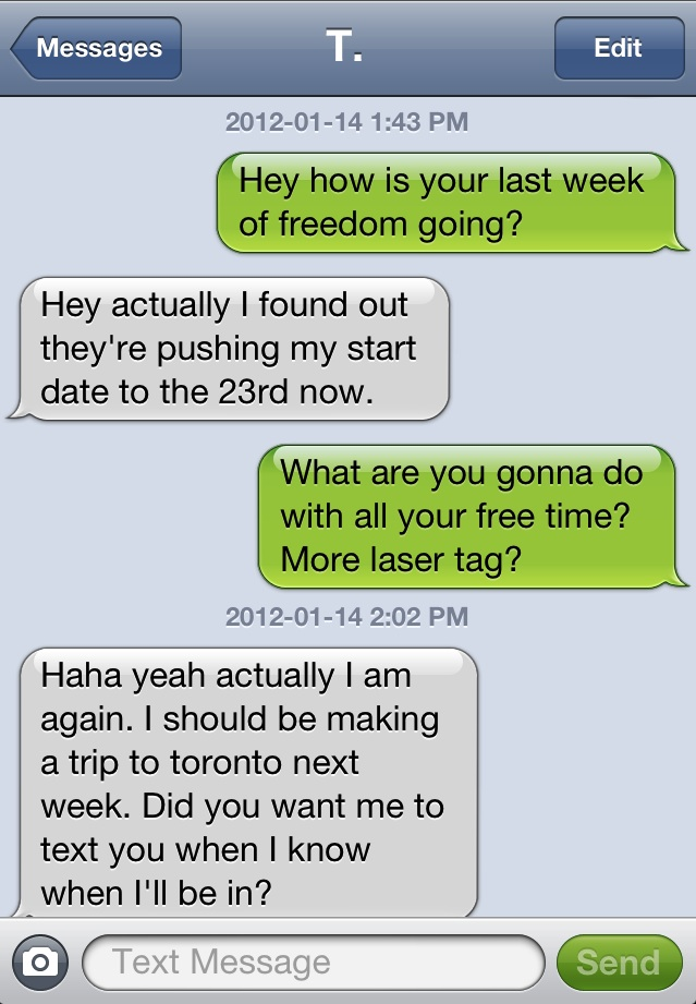 Sexting examples for girls 14